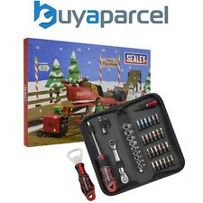 Sealey Outils Noël 2021 Advent Calendrier Douille Embout Tournevis Set AVC002