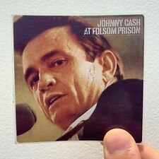 "Johnny Cash At Folsom Prison 3"" x 3"" EP LP Album Cover Sticker"