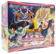 Dragon Ball Super Card Game - CLASH OF FATES Sealed Booster box