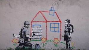 Banksy Crayon for Closure Poster Reproduction Paintings Giclee Canvas Print