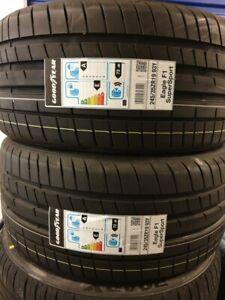 New Car Tyres Goodyear F1 SuperSport 245/35/19 245 35 ZR19 93Y XL 245 35 19 D+A