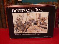 [BRETAGNE MER MARINS] HENRY CHEFFER / PEINTRE DE LA VIE QUOTIDIENNE EO 1983