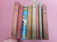 ENID BLYTON  8 BOOK COLLECTION 2 FAMOUS FIVE 1STS GOOD/VG  1940/50/SLOW POST UK