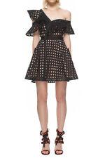 1b2fb61d59bac NEW self-portrait Guipure Frill Mini Dress- black size US 8 $465