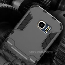 NEW Armor Hard Bumper case Defender Stand Cover for Samsung Galaxy S6 Edge+ Plus