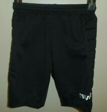 Reusch Goalkeeper Shorts Boys Youth Medium Black Soccer Euc