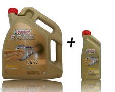 5+1=6 Liter  Castrol EDGE TITANIUM FST 0W-30 Motoröl BMW LL04