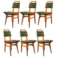 """""""6 originales chaises 1950 En Chene"""""""