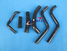 For Honda CR250R CR250 CR 250 R 1988-1991 89 90 91 Silicone radiator hose BLACK