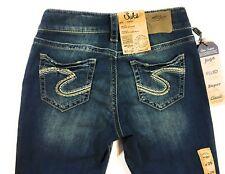 Silver Jeans Co. Women's Size 26 Suki Mid Capri MSRP $69 (D3)