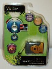 Vivitar 3 In 1 Mini Digital Camera LED Keychain Micro Web Cam Video 16Mb NIP