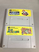 Super Mario Kart | Super Mario World Super Famicom JAPAN SFC SNES