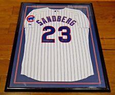 Ryne Sandberg Signed Framed Cubs Jersey JSA/PSA Guarantee