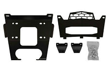 SuperATV Heavy Duty Winch Mount for Polaris RZR XP Turbo / Turbo 4 (2016)