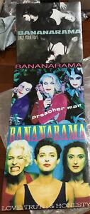 Bananarama 3 X 45 Vinyl Singles Only Your Life/preacher Man/love Truth And Hones