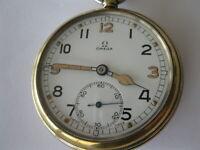 Omega Pocket watch W.W.2 1943 UK Military