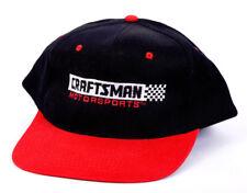 Craftsman Motorsports Nascar Black/Red Snapback Style Hat Vintage