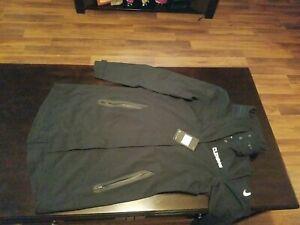 Nike Women's Clemson Black Medium Hypershield Jacket