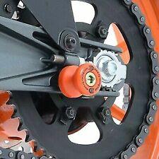 Honda CBR1000RR Fireblade 2004-2016 R&G racing ORANGE cotton reels bobbins