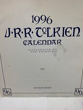 1996 J.R.R. Tolkien Lotr Calendar by Ted Nasmith Wire Bound.15x14