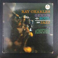 JACKET ONLY NO ALBUM Ray Charles – Genius + Soul = Jazz
