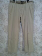 Weatherproof Men's The Utility Chino Relaxed Fit Color Stone Size 40W X 32L NWT