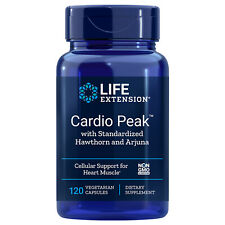 Life Extension Cardio Peak w/ Hawthorn & Arjuna (120ct) Heart health & vitality
