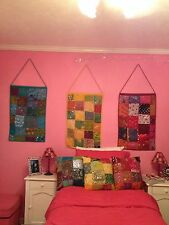 Beautiful Tapestries made in India w/Matching Throw Pillows & Lamps