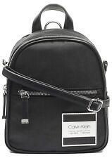 NWT CALVIN KLEIN Women's Kelly Nylon Small Backpack Black