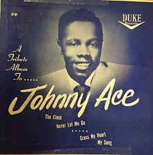"""Johnny Ace - """"A Tribute Album To Johnny Ace"""" 7"""" EP (Classic Blues)"""