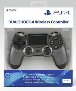Official Sony Playstation Dualshock 4 PS4 Gamepad - Steel Black