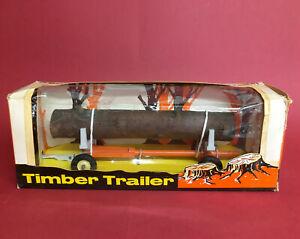 1960-70's Britains 1/32 Timber Trailer No9559 ExIB