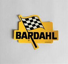 BARDAHL ADDITIVES AND LUBRICANTS ORIGINAL STICKER DECAL NASCAR NHRA NOS