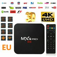 TV CAJA MXQ Pro Quad Core Android TV Box HD Deportes 3D Media Player 4K ES