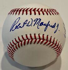 Rob Manfred Jr & Bud Selig Dual Signed Auto MLB OMLB Baseball PSA/DNA COA (B)
