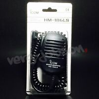 ICOM HM-186LS Compact Speaker Microphone for ID-31 ID-51 IC-DPR3 Original New
