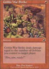 *MRM* FR 4x Frappe Guerriere des Gobelins / Goblin War Strike MTG Scourge