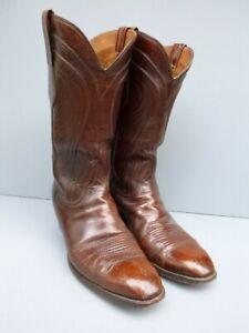 Lucchese Mens Classics Seville 2083 Goatskin Boots 10 E