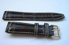 POLJOT genuine leather band, bracelet , strap for wrist watch 20 mm