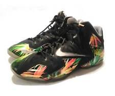 Nike XI 11 Everglades Lebron Mens 616175-006 Black Basketball Shoes Size 14