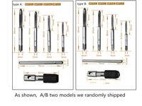 Handle Ratchet Tap Wrench + M3-M6 Machine Screw Thread Metric Plug Taps 9pcs/Set