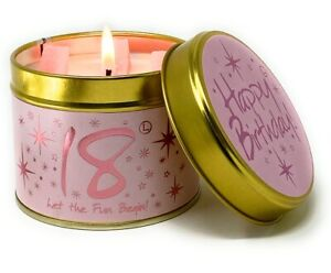 Brand New Lily Flame 18th Birthday Candle FREE P+P