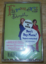 """NEW & SEALED Farmer's Daughters """"Makin' Hay"""" Cassette Tape IMPORT FREE US SHIPP"""