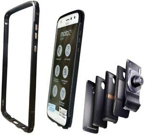 Motorola Moto Z2 Play Bumper Case Compatible with Moto Mods Metal AluminiumFrame