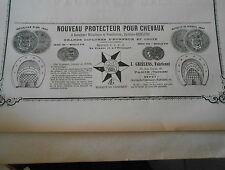 Protecteur pour Chevaux systèles J. Griélens Pub 1887
