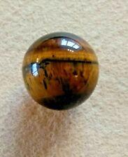 Polished Natural Tigers Eye Gemstone Crystal Sphere Ball Marble Globe Orb 25mm