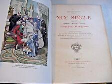 GRAND-CARTERET XIXEME SIECLE MOEURS USAGES 1893 EO ENVOI Signé Illustré CUISINE