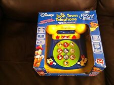 disney play and learn toon town telephone new and sealed