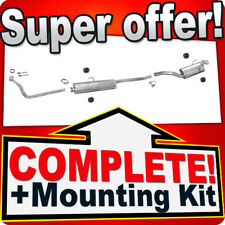 FIAT SCUDO I (220) 1.9 TD SWB-short+Front Pipe Exhaust System T77C