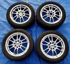 """4x Mono Block Light Concept 15"""" Alloy Wheels MultiFit PCD4x100/108 ET38 15x6.5jj"""